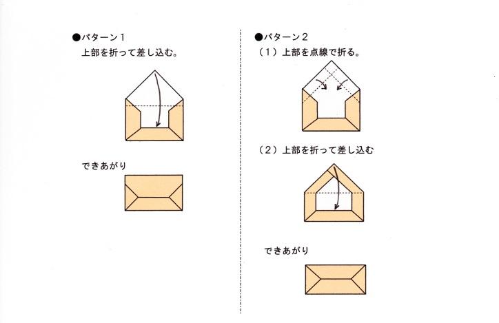 ハート 折り紙 : 封筒 作り方 折り紙 : divulgando.net